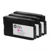 Hewlett Packard No.711 3-Ink Magenta Multipack - 29ml - Cartridge - 29ml x 3