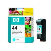 Hewlett Packard No.44 Ink Cartridge Cyan - 42ml - Cartridge - 42ml