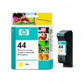 Hewlett Packard No.44 Ink Cartridge Yellow - 42ml - Cartridge - 42ml