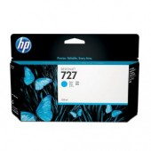 Hewlett Packard No. 727 Ink Cartridge Cyan - 130ml