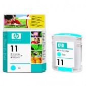 Hewlett Packard No.11 Ink Cartridge Cyan - 28ml - Cartridge - 28ml