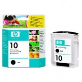 Hewlett Packard No.10 Ink Cartridge Black - 69ml - Cartridge - 69ml