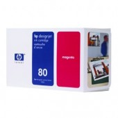 Hewlett Packard No.80 Ink Cartridge Magenta - 350ml - Cartridge - 350ml