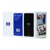 Hewlett Packard No.80 Ink Cartridge Black - 350ml - Cartridge - 350ml