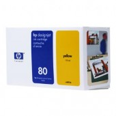 Hewlett Packard No.80 Ink Cartridge Yellow - 175ml - Cartridge - 175ml