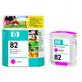 Hewlett Packard No.82 Dye Ink Cartridge Magenta - 69ml - Cartridge - 69ml