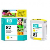 Hewlett Packard No.82 Dye Ink Cartridge Yellow - 69ml - Cartridge - 69ml