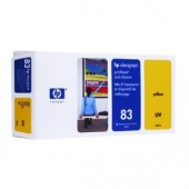 Hewlett Packard No.83 UV Ink Printhead and Cleaner - Yellow - Cleaner - 680ml