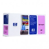 Hewlett Packard No.83 UV Ink Printhead and Cleaner-Light Magenta - Cleaner - 680ml