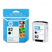Hewlett Packard No.82 Pigment Ink Cartridge Black - 69ml - Cartridge - 69ml