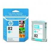 Hewlett Packard No.82 Dye Ink Cartridge Cyan - 28ml - Cartridge - 28ml