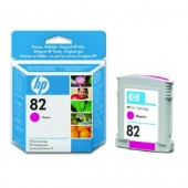 Hewlett Packard No.82 Dye Ink Cartridge Magenta - 28ml - Cartridge - 28ml