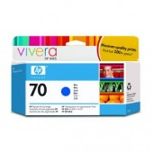 Hewlett Packard No.70 Ink Cartridge Blue - 130ml - Cartridge - 130ml