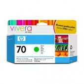 Hewlett Packard No.70 Ink Cartridge Green - 130ml - Cartridge - 130ml