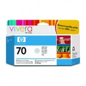 Hewlett Packard No.70 Ink Cartridge Light Grey - 130ml - Cartridge - 130ml