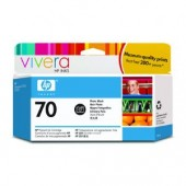 Hewlett Packard No.70 Ink Cartridge Photo Black - 130ml - Cartridge - 130ml