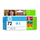 Hewlett Packard No.72 Ink Cartridge Cyan - 130ml - Cartridge - 130ml