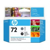 Hewlett Packard No.72 Ink Printhead - Grey & Photo Black - Printhead