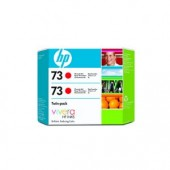 Hewlett Packard No.73 Ink Cartridge Chromatic Red - 130ml x 2 - Cartridge - 130ml x 2